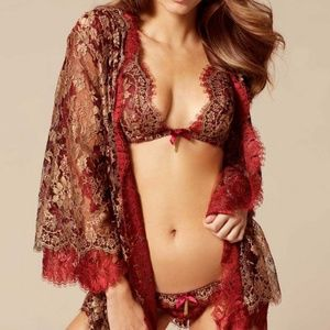 NWT Agent Provocateur SOIREE Savannah Kimono O/S